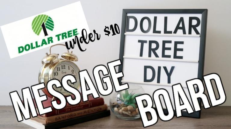 DIY Message Board