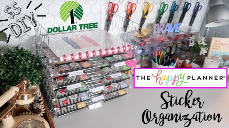 DT Happy Planner Sticker Organization